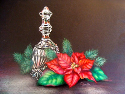 Crystal Bell & Poinsettia