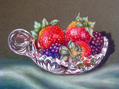 Crystal and Berries